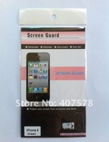 PROFESSIONAL SCREEN GUARD/LCD SCREEN for iPhone 5/Hd paster for apple iphone 5