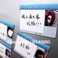 Free shipping 1set/lot Novelty Dialog box magnet fridge magnet MSN/QQ message magnet