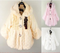 baby baby girls winter coat kids thick warm hooded jacket toddlers fleece overcoat outwear clothes
