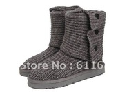 Wholesale 5819 Women Snow Boots, Sheepskin Boot, Winter Boots (6 pcs/lots)6pairs free shipping