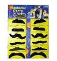 Best 12 Stylish Assorted Fake Mustache Moustache Handlebar Costume Prop For Halloween Party 200pcs