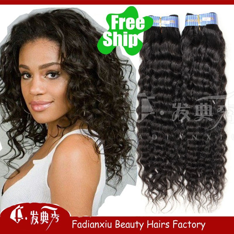 Brazilian Curly Human Hair Extensions Human Hair Extension
