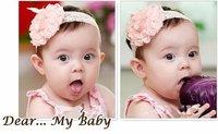 Lace Flower Newborn Baby Infant Toddler Kid Girl Headband Christening Elastic[240820]