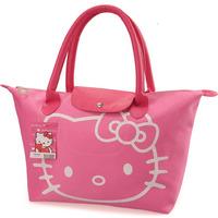 Hello Kitty multifunction bag nylon shopping  folding tote bag (JD)
