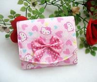 Retail Storage bag health cotton cartoon  kitty cotton  sanitary napkin bags (JD)
