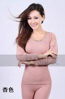 lady PLUS SIZE  Render seamless model body underwear suit/woman slim waist thin  thermal underwear/ intimate long johns