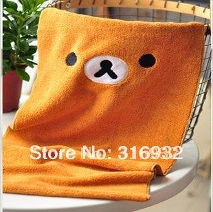 P1 Free shipping Super cute Rilakkuma San-X Towel,30*60cm