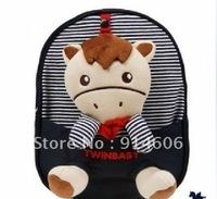 The little horse toy removable prevent stray away from children's shoulders men and women kindergarten children's bag