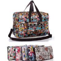 Flower  ultralarge folding women travel bag  lady big handbag casual lady bag-free shipping
