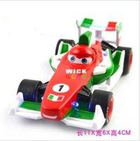 Cars 2 Francesco Bernoulli alloy model toy, kids sound and light pull back function movie memorabilia toys + free shipping