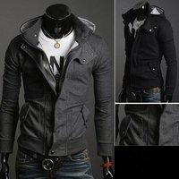 2012 autumn and winter, dropship elegant cool men's hoodies fleeces jacket coat