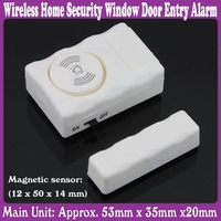 5 pcs/Lot_Wireless Home Security Window Door Entry Alarm RV Burglar Alarm_Free Shipping