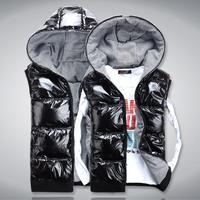 2012 male slim lovers fashion cotton vest male vest waistcoat down cotton vest