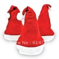 free shipping hot selling 10pcs/lot Christmas hat Christmas cap christmas santa hat 01