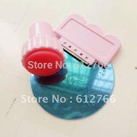 free shipping - nail stamping set  template set