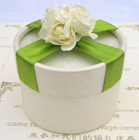 Pls contact for price 2012 personalized wedding supplies fashion candy box cylinder candy box finished product