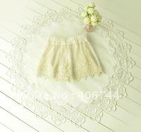 2012 hot sell ELEGANT girls  lace shorts ,9pcs/lot,DDK003,ship in 20 days!!