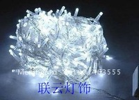 Led lights mantianxing lighting string christmas decoration 100 10 beige end plug
