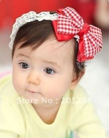 Lovely big bow baby hair bow headband baby headband  10pcs/lot  Free shipping