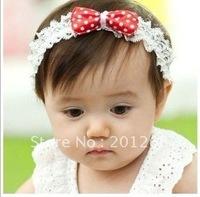 Lovely baby hair bow headband baby headband  3pcs/lot  Free shipping