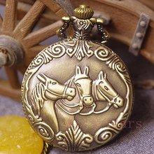 wholesale horse pocket watch