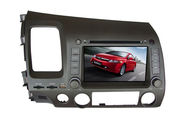 7&quot; Car DVD player + GPS for HONDA CIVIC 2006 - 2011 / Left side Driving / CS-H003(China (Mainland))