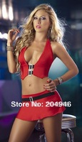 Black Red 2 color Fashion sexy swimwear Shoulder strap Bikini sexy women' swimsuit Shoulder strap charming Beachear M88