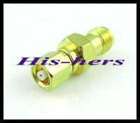 10pcs/lot SMA to SMC adapter SMA female Jack to SMC female Jack connector adapter goldplated straight Free shipping