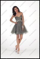 Noble Sparkle Sheath Sweetheart Prom Dress ANGEL