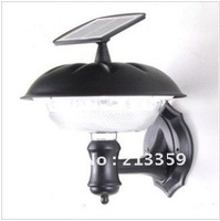 Free Shipping for Solar Wall Light+ 20 Bright LEDs+100 % solar powered solar garden light outdoor lamp Hot!