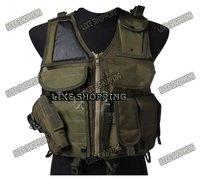 Tactical Airsoft Vest Tactical Combat Hunting Vest Green