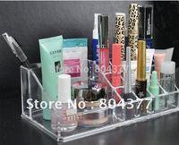 Free Shipping crystal make up cosmetic organizer storage case box Container/bathroom organizer/jewelry organizer case box