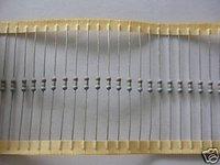 10PCS 1/4W 0.33OHM / 0.33OHM 5% Carbon Resistors