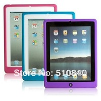 Brand New Jelly Bean smarties Silicone Case Cover For ipad2 ipad 2 3 4 +Free shipping