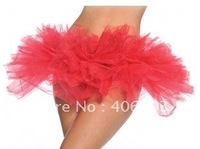 Free Shipping Sexy Adult Women Organza  Tutu Petticoat  Clube Rave  Fancy  Tulle Costumes Dance Party  Skirts