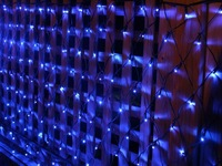 Led decoration reticularis lantern net lights wedding background light flasher christmas lighting
