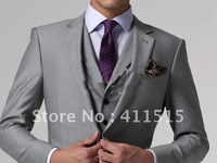 2013 New Style Men's Wedding Dress Bridegroom Prom Clothing Party Apparel suits Men Suit Custom Made