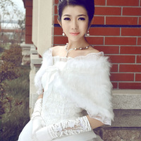 Freeshipping! NEW Fashion White bride shawls,The dress cape cheongsam shawls