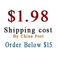 Special link for ma below $15 order shipping cost $1.98 by china post