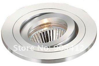 led ceiling lighting fixture without lamp source thickness body beautiful surface with gu10 lamp socket
