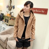 2012 Candy fashion office lady color three quarter sleeve roll sleeve blazer suit coat formal paragraph slim