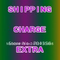 shippping charge extra