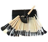 5pcs Wholesale!Pro Makeup Cosmetic Brush 24 pcs Set + Soft Case