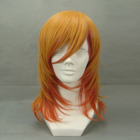 Jinguuji Ren 45cm Mix 3 color half long straight anime cosplay costume wig,synthetic hair.Free shipping