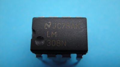 10 LM308N / LM308 OP AMPS IC For Guitar Effect Pedal(China (Mainland))