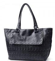 New HOT sale Ladie's handbag black  free shipping