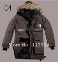 EMS Drop shipping EMS Men's Snow Mantra epoptic Jacket Goose Down&Parkas Expedition Parka Outerwear Windproof Jacket