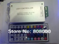 12v 12A 144w 44key RGB LED strip controller can connect 10m led strip light smd5050 60led/m