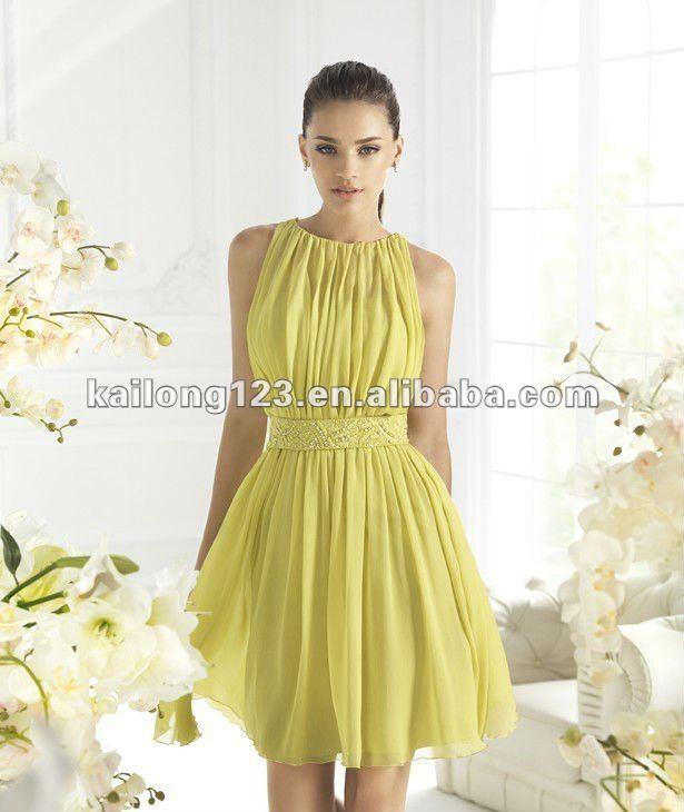 Chiffon Short Dresses - Dress Xy