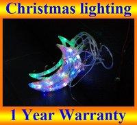 LED Christmas light Xmas Led Lighting Color Mixed Moon 1.5M 5pcs/set 50pcs led bulbs,Holiday  New Year party Led Lighting